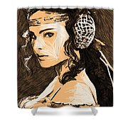 Episode 2 Star Wars Art Shower Curtain