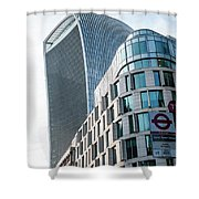 20 Fenchurch Street A Commercial Skyscraper In London Shower Curtain