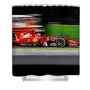 Ferrari Formula 1 Monza Shower Curtain