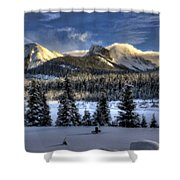 Landscape Art Shower Curtain