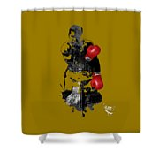 Muhammad Ali Collection Shower Curtain