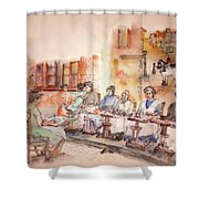 Of Clogs And Windmills Album Shower Curtain