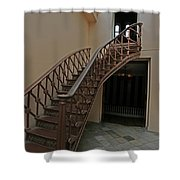 Old Courthouse Shower Curtain