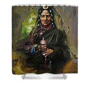 20 Pakistan Folk Gilgit Shower Curtain