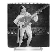 Rudolph Valentino Shower Curtain