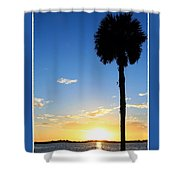 Sunrise / Sunset / Indian River Shower Curtain