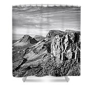 The Quiraing Shower Curtain