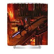 Video Star Wars Art Shower Curtain