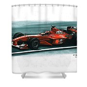 2000 Ferrari F1-2000 Shower Curtain