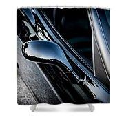 2002 Corvette Ls1 Painted  Shower Curtain