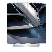 2002 Pontiac Trans Am Hood Vents Shower Curtain