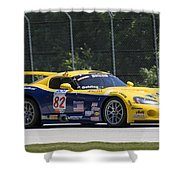 2003 Dodge Viper Gts-r At Road America Shower Curtain