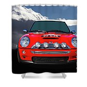 2004 S Mini Cooper Shower Curtain