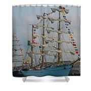 2004 Tall Ships Shower Curtain