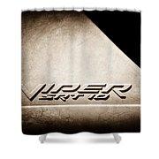 2006 Dodge Viper Srt 10 Emblem -0062s Shower Curtain