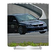 2006 Mitsubishi Evo Shower Curtain