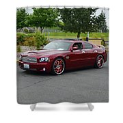 2007 Dodge Charger Couture Shower Curtain