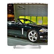 2007 Jaguar Xkr Convertible R No 1 Shower Curtain