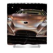 2007 Lexus Lf-a Exotic Sports Car Concept No 2 Shower Curtain