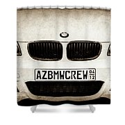 2008 Bmw Grille Emblem -1136s Shower Curtain