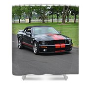 2008 Ford Cobra Weary Shower Curtain