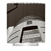 2008 Lines And Forms Shower Curtain