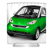 2008 Smart Fortwo City Car Shower Curtain