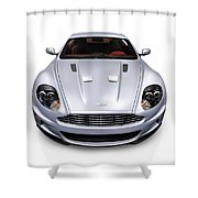 2009 Aston Martin Dbs Shower Curtain