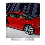 2009 Audi R8 Number 1 Shower Curtain