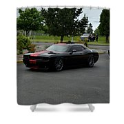 2009 Challenger Rt Lind Shower Curtain