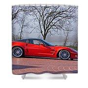 2009 Chevrolet Corvette Zr 1 Shower Curtain