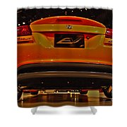 2009 Chicago Auto Showdodge Circuit Ev No 2 Shower Curtain