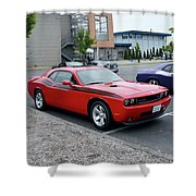 2009 Dodge Challenger Rt Lyster Shower Curtain