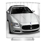 2009 Maserati Quattroporte S Shower Curtain