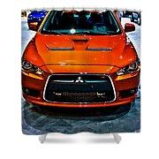 2009 Mitsubishi Lancer Shower Curtain