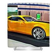 2010 Chevrolet Camaro Shower Curtain