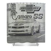 2010 Chevrolet Camaro Ss  Shower Curtain