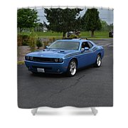 2010 Dodge Challenger Amilowski Shower Curtain
