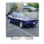 2010 Dodge Challenger Rt Lyster Shower Curtain
