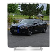 2011 Dodge Charger Rt Lopez Shower Curtain