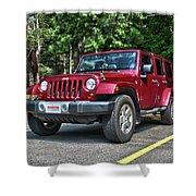 2011 Jeep Wrangler Shower Curtain