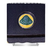 2011 Lotus Euora Emblem Shower Curtain