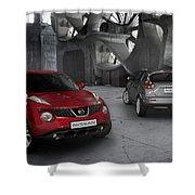 2011 Nissan Juke 4 Shower Curtain