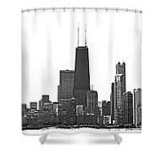 2012 08 11 Bw Chicago Dsc_1612_sig Shower Curtain