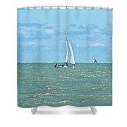 2012 08 11 Chicago Dsc_1630 Shower Curtain
