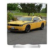 2012 Dodge Challenger Rt Clark Shower Curtain