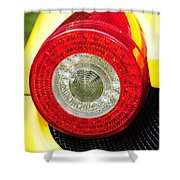 2012 Ferrari 458 Spider Brake Light Shower Curtain
