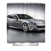 2012 Ferrari Ff 3 Shower Curtain