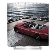 2012 Maserati Grancarbio Sport 3 Shower Curtain