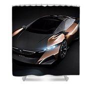 2012 Peugeot Onyx Concept Shower Curtain